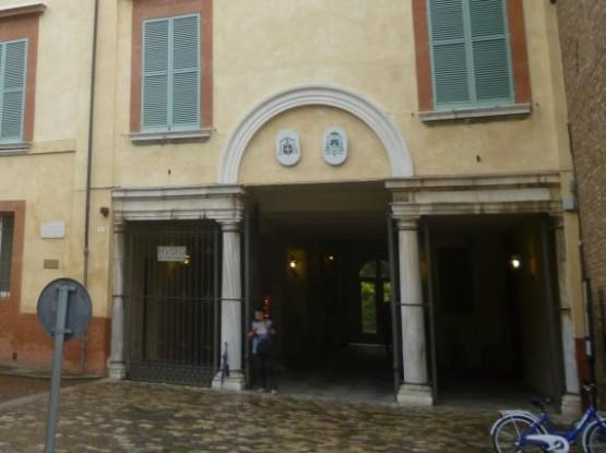 Museo Arcivescovile di Ravenna Entrance