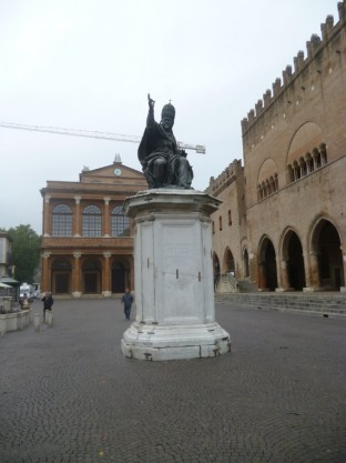 Piazza Cavour - Pope Paul V