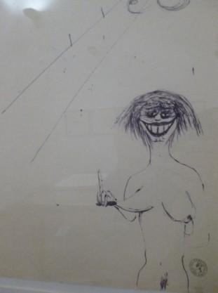 Museo Della Citta Di Rimini - Fellini Drawings (1)