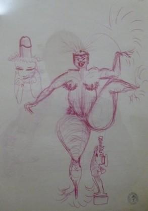 Museo Della Citta Di Rimini - Fellini Drawings