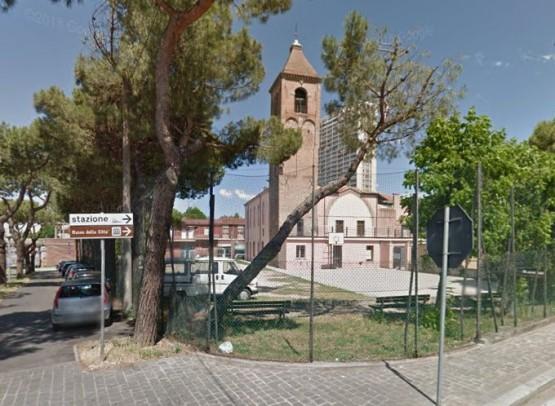 La Chiesa Di San Nicolo A Rimini Al Porto