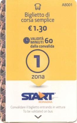 Startromagna - Biglietto