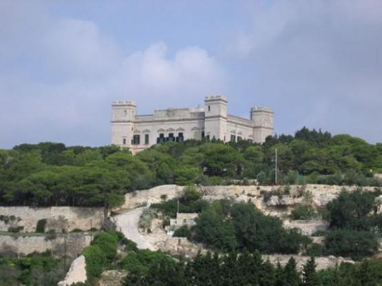 Дворец Вердала, сады Бускетт