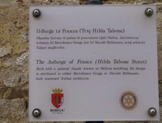 Auberge Of France tablet