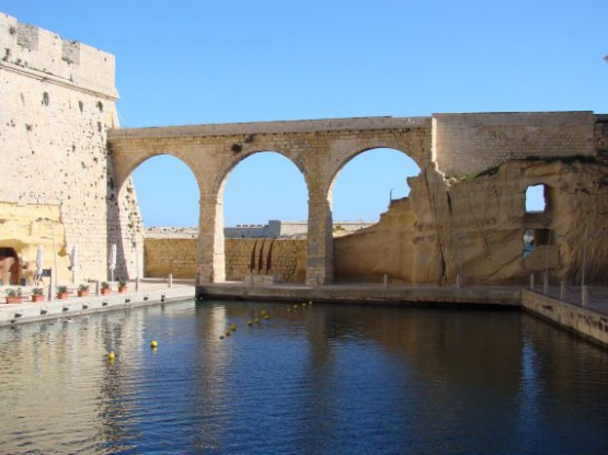 Fort St Angelo -  Moat Bridge
