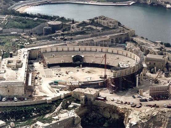 Coliseum for Gladiator Movie