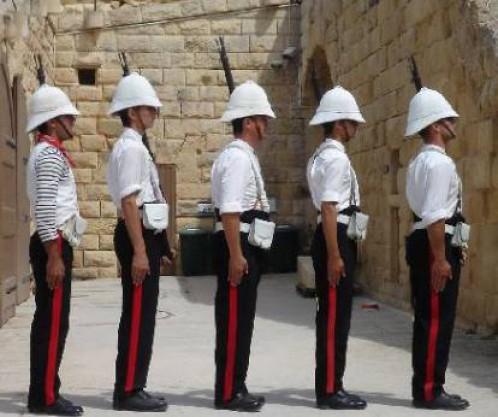Fort Rinella - Royal Malta Regiment  Of Militia