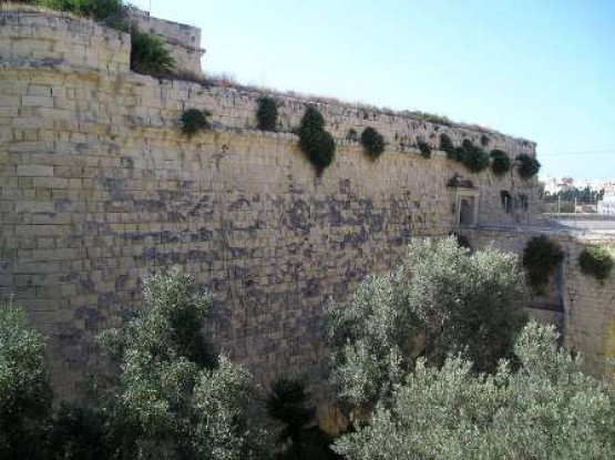 St James Cavalier & Capuchins Gate