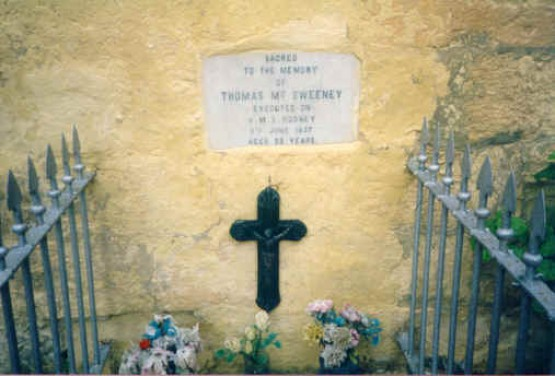 Mac Sweeney  Grave