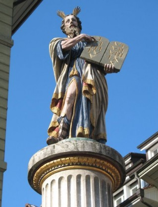 Mosesbrunnen 1
